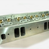 23 Degree Raised Inlet Chevy Cylinder Head