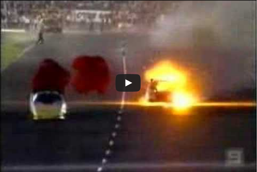 Funny Car Crash Calder Park